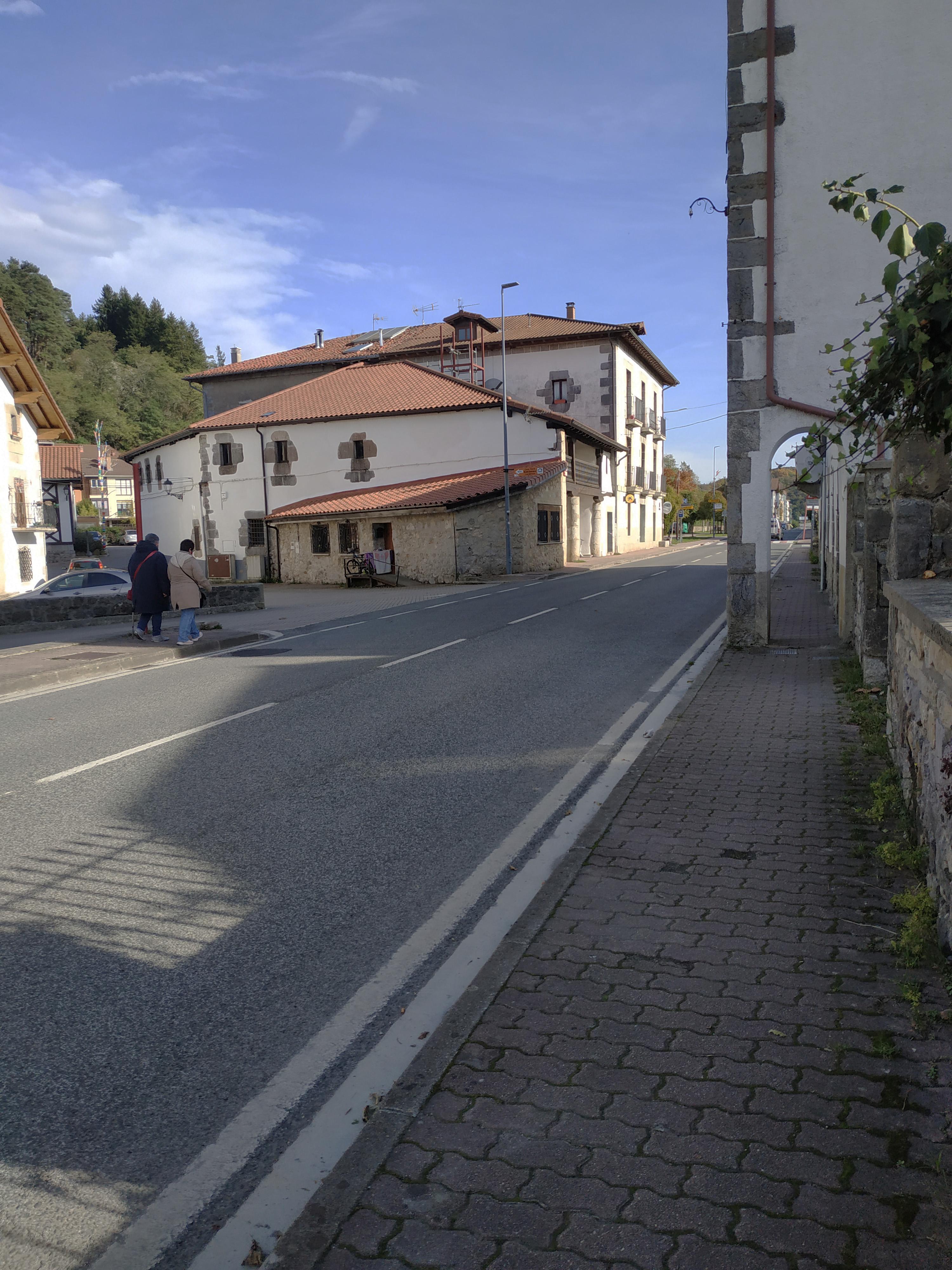 Ejemplo de calle (Lekunberri Amable)
